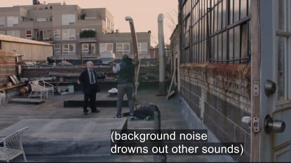 Example of subtitle issues in Bronx SIU.