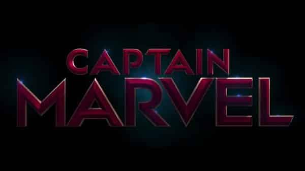 Captain Marvel (2019) - Title Card alternate