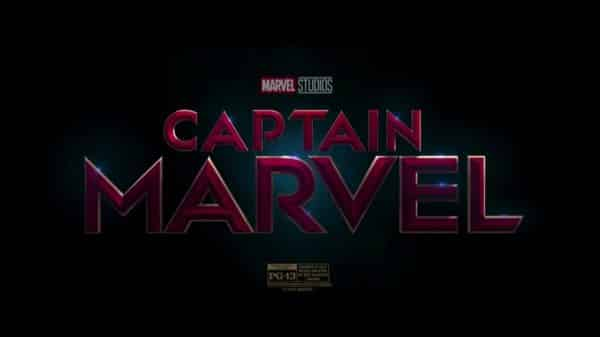Captain Marvel (2019) - Title Card