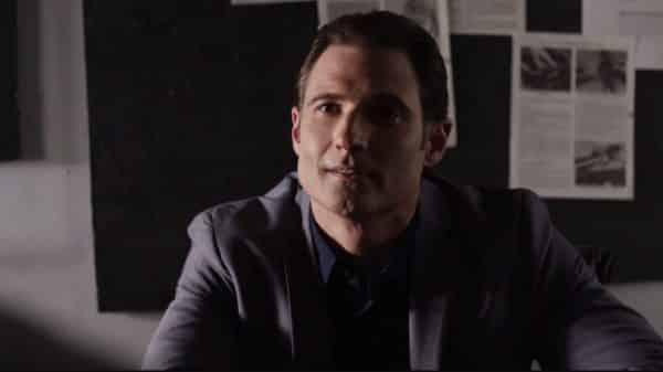 Zakia (Eddie Davenport) during Jimmy's interrogation.