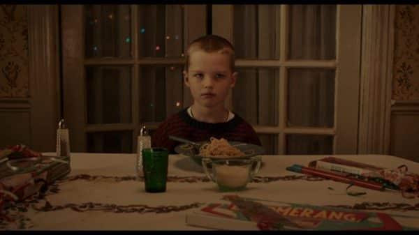 Steve - 6 (Iain Armitage) watching his parents argue.