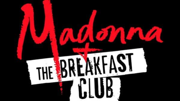 Madonna and The Breakfast Club (2019) - Title Card