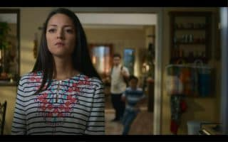 Geny's (Paula Garces) face after telling Ruby to do something and him give her excuses.