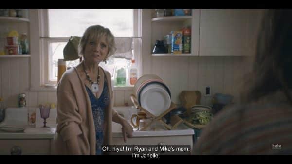 Janelle (Gretchen Corbett) introducing herself to Annie.