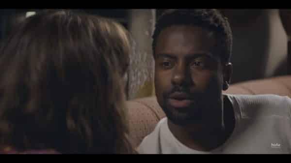 Lamar (Akemnji Ndifornyen) before he kisses Annie.