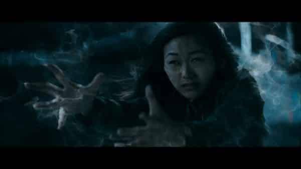 Nori (Karen Fukuhara) using her magic in the final battle.