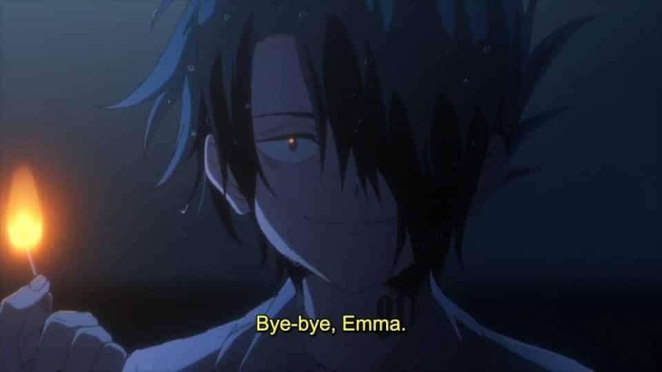 Ray saying goodbye.