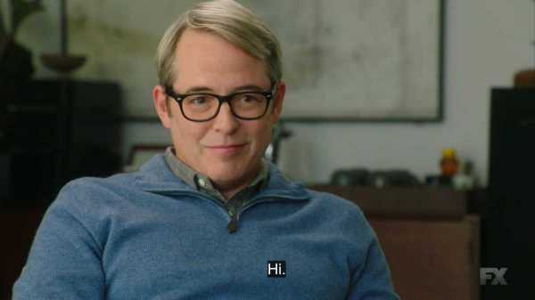 Dr. Miller (Matthew Broderick) saying Hi to Sam.