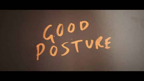 Good Posture - Title Card