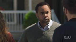 Jamie (Benz Antoine) revealing he is Tyson's father.