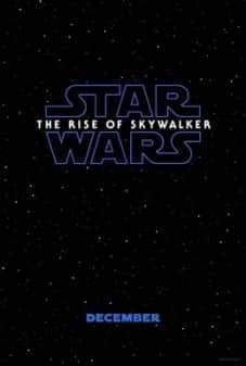 Star Wars: The Rise of Skywalker - Movie Poster