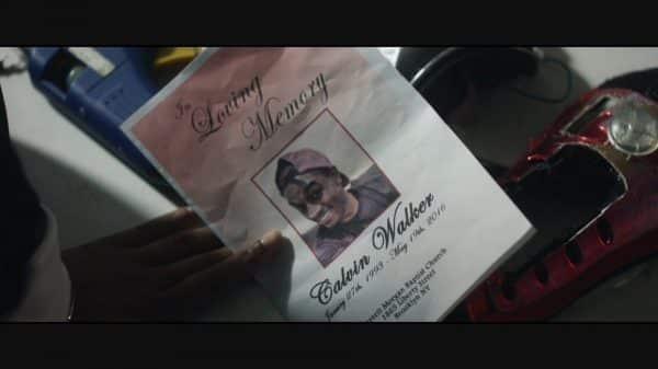 Calvin's memorial flier.