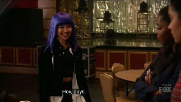 Amber Drake (Erika Tham) introducing herself.