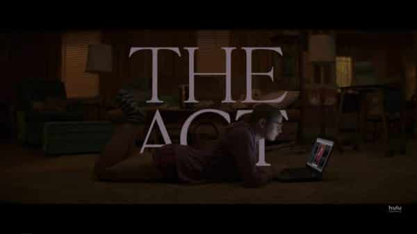 The Act Season 1, Episode 3 Two Wolverines - Title Card featuring Gypsy on her laptop.