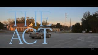 The Act Season 1, Episode 7 Bonnie & Clyde - Title Card featuring Kathy's car.