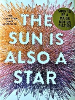 The Sun Is Also A Star - Original Book Cover