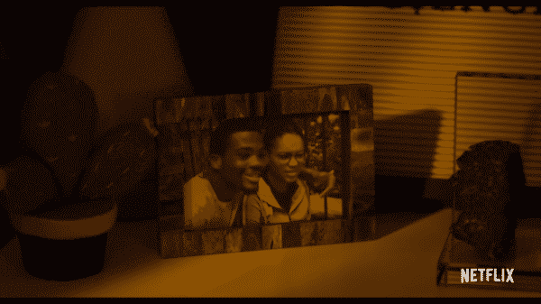 A picture of Calvin (Brian Bradley) and CJ (Eden Duncan-Smith)