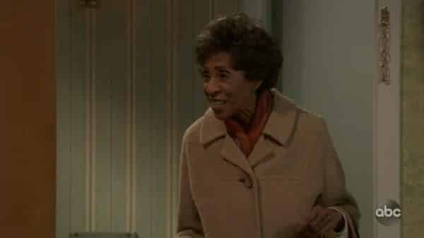 Florence (Marla Gibbs) making an appearance.