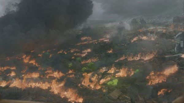 King's Landing after Daenerys burnt it to ashes.