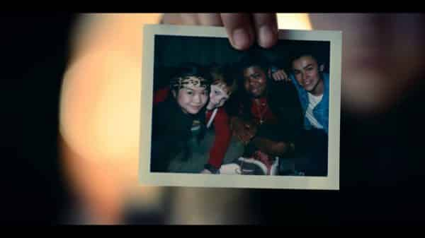 A hand of one of the aliens.