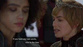 Cersei noting if Missandei has any last words to say it.