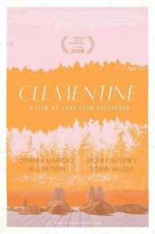 The poster for the movie Clementine (2019)