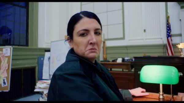Ranger Debecki (Katie Rich) upset that Malcolm beat her in court.