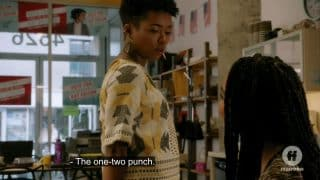 Tia noting being Black and gay is the one - two punch.