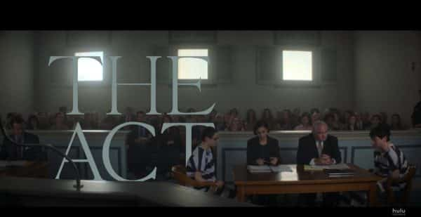 Title Card - The Act Season 1, Episode 8 Free with Gypsy in court.