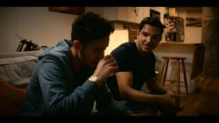 Jake and Flaco (Juan Castano) before they hook up.