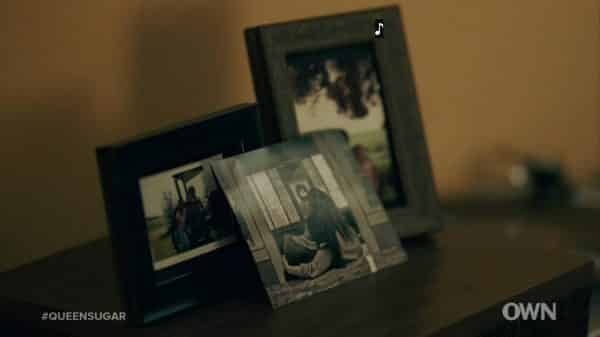 Nova's pictures in her home.