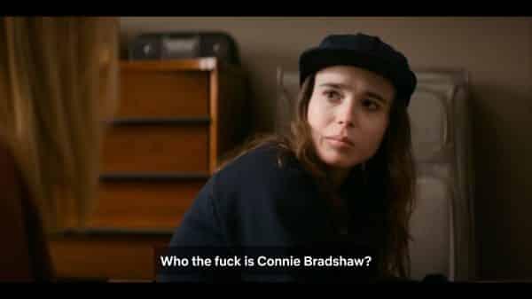 Shawna asking who is Connie Bradshaw?