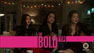 Title Card - The Bold Type Season 3, Episode 10 Breaking Through The Noise [Season Finale]
