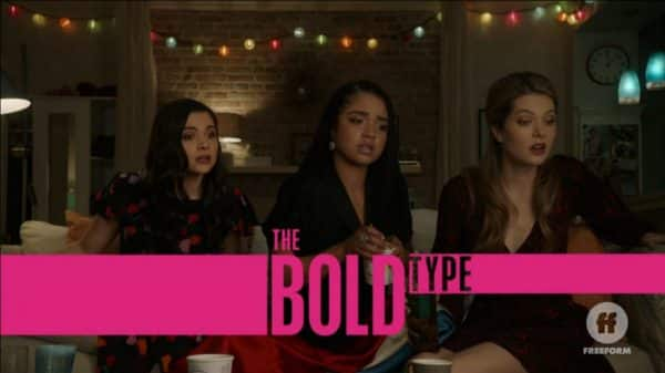 Title Card - The Bold Type Season 3, Episode 10 Breaking Through The Noise [Season Finale]
