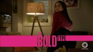 Title Card - The Bold Type Season 3, Episode 9 Final Push | Featuring Jane dancing for Ryan.