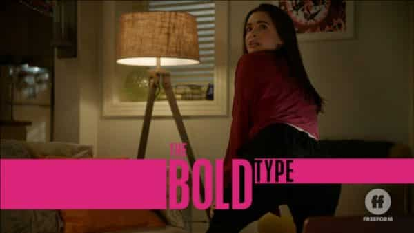 Title Card - The Bold Type Season 3, Episode 9 Final Push | Featuring Jane dancing for Ryan.