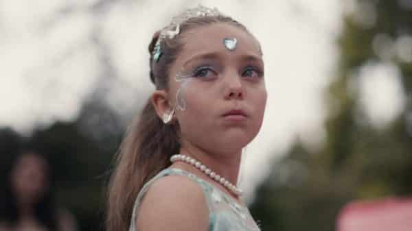 11 year old Cassie (Kyra Adler) at her party.