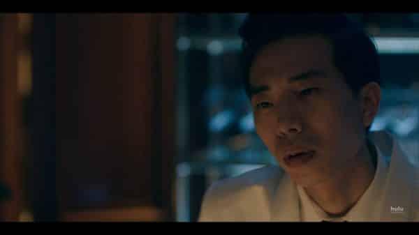 Billy (Daniel Jun) talking to June.