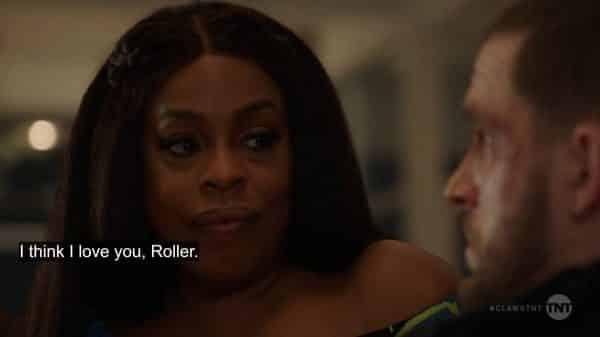 Desna confessing she loves Roller.