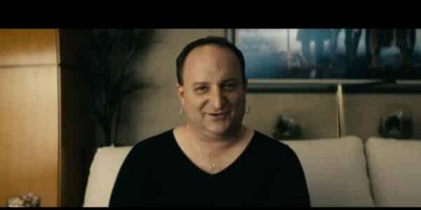 Doppelganger (Dan Darin-Zanco) revealing himself to Senator Calhoun