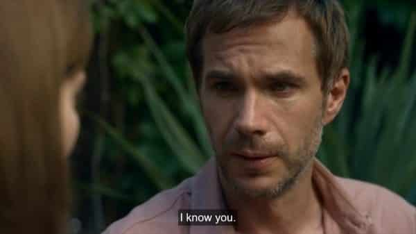 Dr. Andrew Bristol (James D'Arcy) noting he knows Myfanwy.