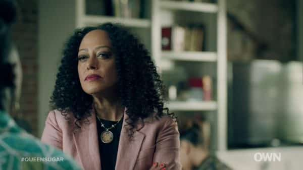 Dr. Octavia Laurent (Cree Summer) inviting Nova to talk and be challenged.