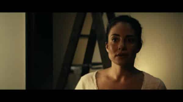 Elena (Nicola Correia-Damude) greeting Maeve.
