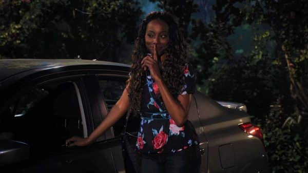 Grace (Erica Ash) telling Jade she won't snitch on her.