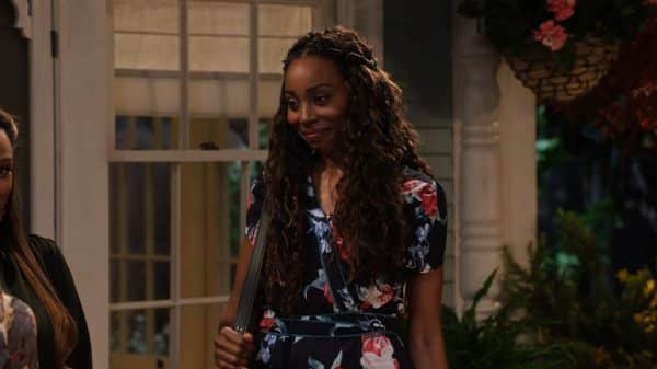 Grace (Erica Ash) with Cocoa.