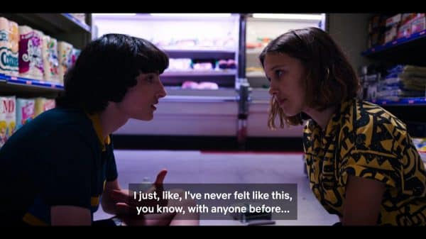 Mike and El - Stranger Things Season 3, Episode 7 Chapter Seven The Bite