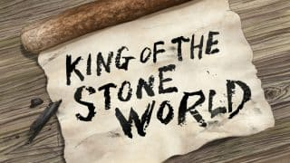 Title Card - Dr. Stone Season 1, Episode 2 King Of The Stone World