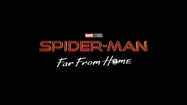 Title Card - Spiderman Far From Home