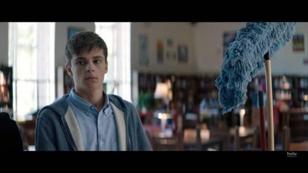 Brett (Corey Fogelmanis) in detention.