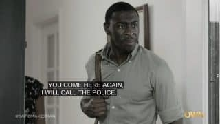 Darius (Timothy Richardson) threatening Gloria.